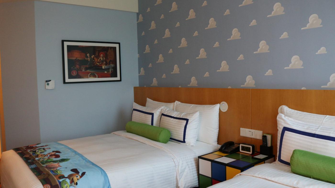 トイ・ストーリーホテル  客室