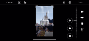 ios13 movie editing